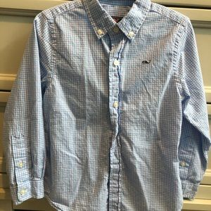 Toddler Boys Vineyard Vines button down shirt 4t